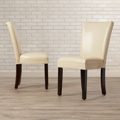 East Village Side Chair Upholstery: Cream
