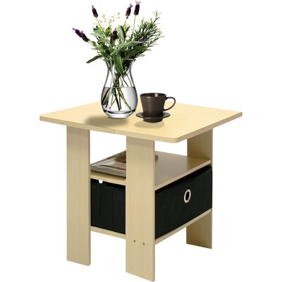 Kenton Petite End Table Finish: Steam Beech / Black