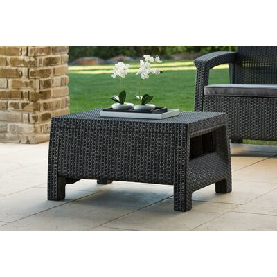 Colona All Weather Outdoor Coffee Table Finish: Charcoal