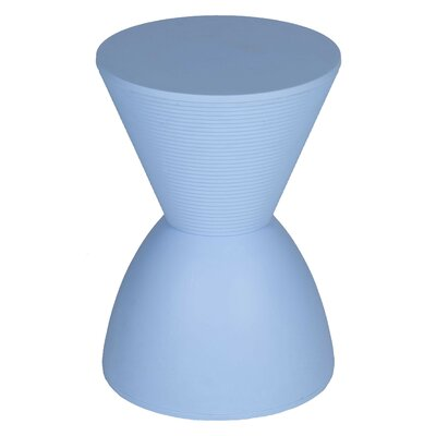 Elkins Park End Table Color: Blue