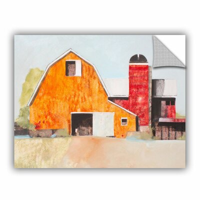 Barn No. 3 Painting Print Size: 14