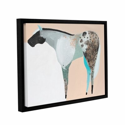 Horse No. 65 Framed Painting Print on Wrapped Canvas Size: 24