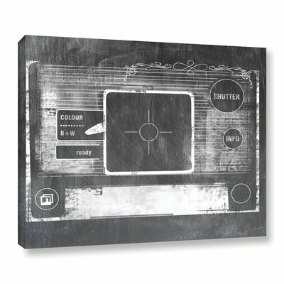 Camera Graphic Art on Wrapped Canvas Size: 18
