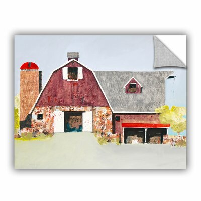 Barn No. 2 Painting Print Size: 14