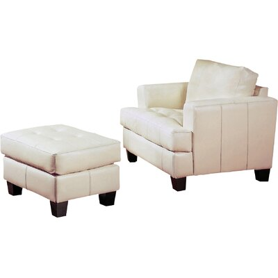 Kedzie Arm Chair Color: Cream