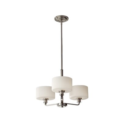 Wyncote 3-Light Shaded Chandelier