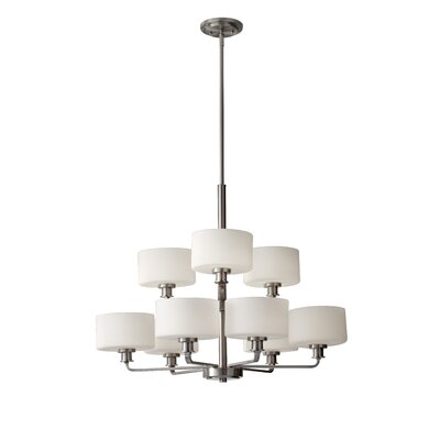 Wyncote 9-Light Shaded Chandelier
