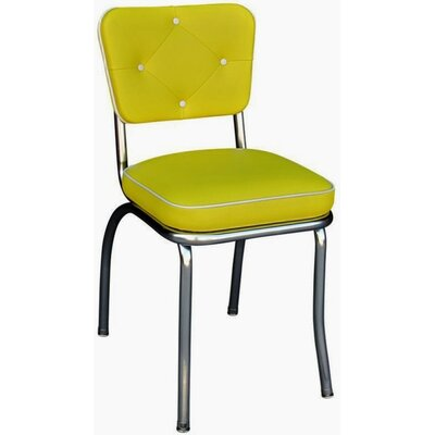 Arendt Side Chair Upholstery: Yellow