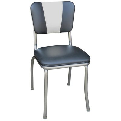 Arendt Side Chair Upholstery: Black