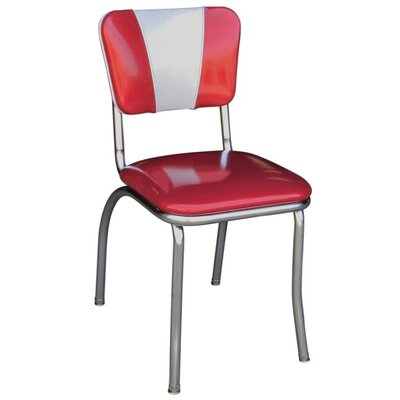 Arendt Side Chair Upholstery: Glitter Sparkle Red