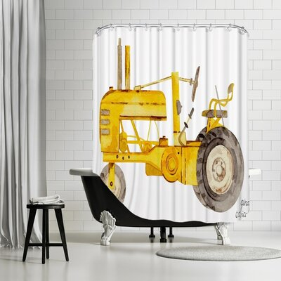 Gina Maher Mondale Shower Curtain