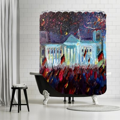 German Reunification Festivities Shower Curtain