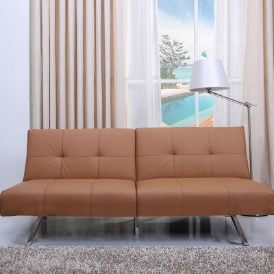 Rosehill Convertible Sofa Upholstery: Camel