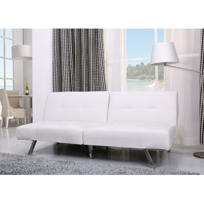 Rosehill Convertible Sofa Upholstery: White