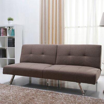Dariana Convertible Sofa Upholstery: Mocha