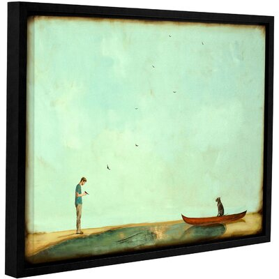 Day Training Framed Painting Print on Wrapped Canvas