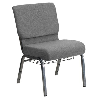 Jackston Guest Chair with Book Rack Seat Finish: Gray