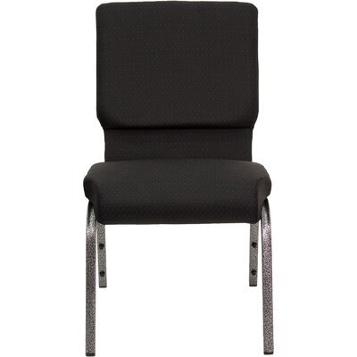 Jackston Stacking Guest Arm Chair Frame Finish: Gold Vein, Seat Finish: Brown ZPCD1745 39215810