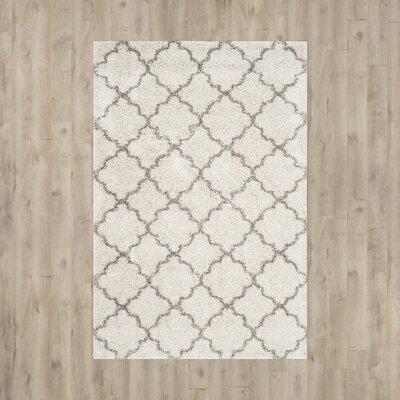 Elizabeth Street Ivory / Grey Area Rug Rug Size: 3 x 5