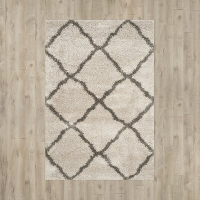 Cherry Street Taupe / Grey Area Rug Rug Size: 3 x 5