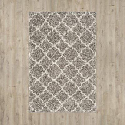 Elizabeth Street Grey / Ivory Area Rug Rug Size: 6 x 9