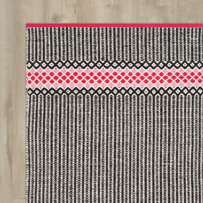 Shevchenko Place Hand-Woven Light Pink Area Rug Rug Size: Rectangle 3 x 5