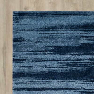 Tenth Avenue Light Blue Area Rug Rug Size: 5 x 8