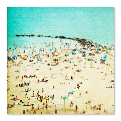 Coney Island Beach by Rose Anne Colavito Photographic Print