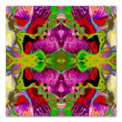 Neon Rose 2 by Rose Anne Colavito Graphic Art Size: 18