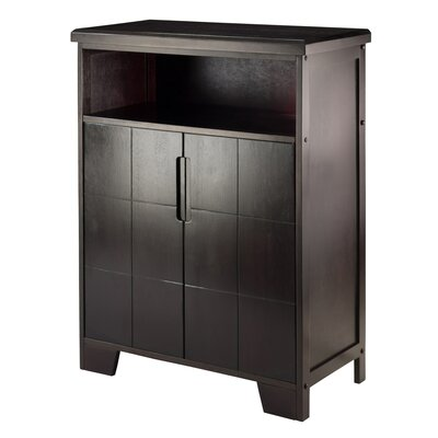 Nyack 12 Bottle Floor Wine Cabinet