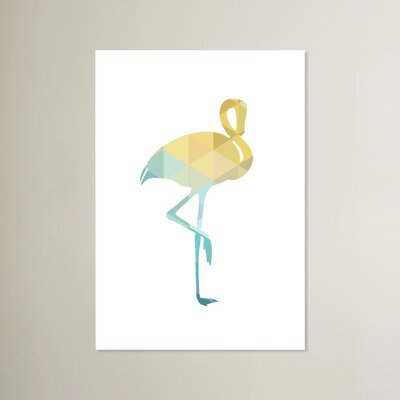 Beckett Flamingo Graphic Art Size: 10