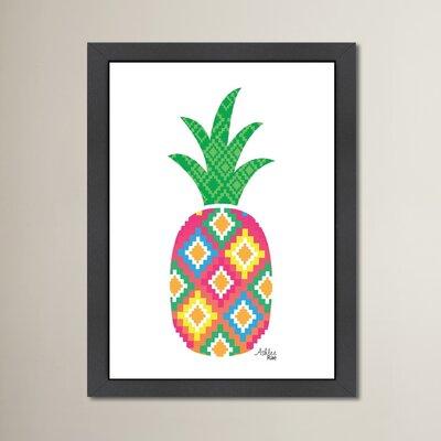 Cabrini Mexicano Pineapple Framed Graphic Art
