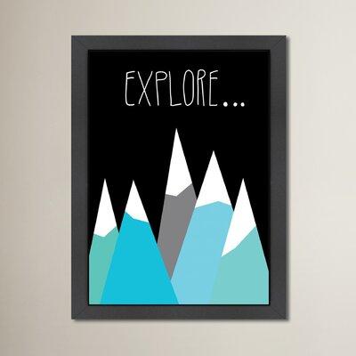 Cabrini Explore Framed Graphic Art
