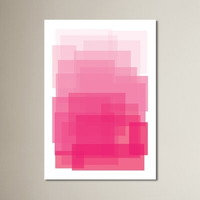 Ombre Graphic Art Size: 10