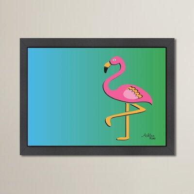 Cabrini Flamingo Framed Graphic Art