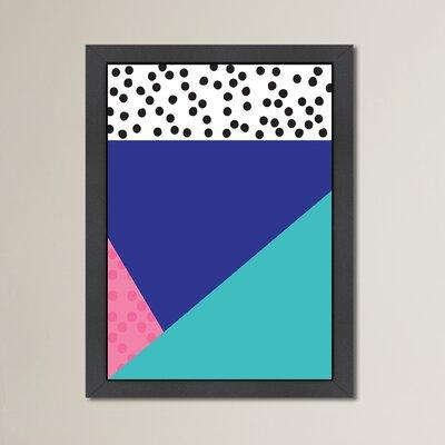 Cabrini Dotti Two Framed Graphic Art