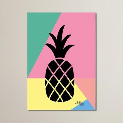 Cabrini Geometric Pineapple Graphic Art