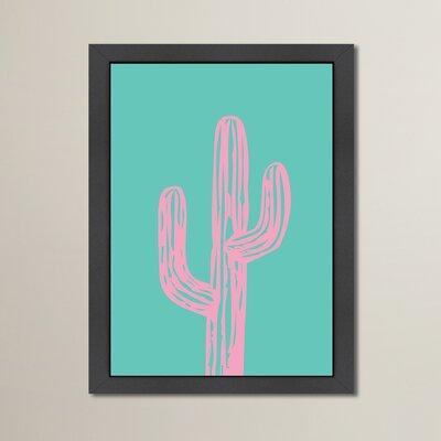 Cabrini Cactus Framed Painting Print