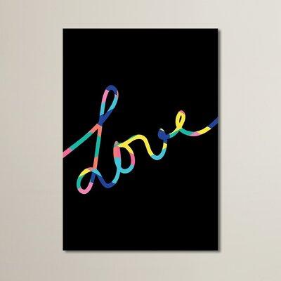 Cabrini Love Textual Art