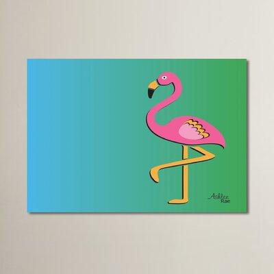 Cabrini Flamingo Graphic Art