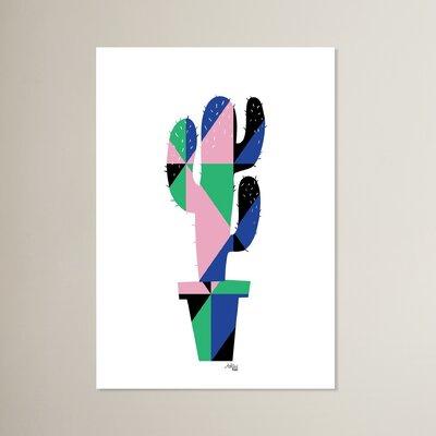 Cabrini Geometric Cactus Graphic Art