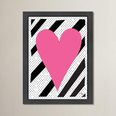 Cabrini Heart Framed Graphic Art