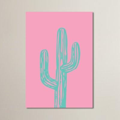 Cabrini Cactus Painting Print