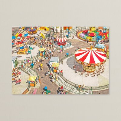 Aerial Carnivale Photographic Print Size: 11