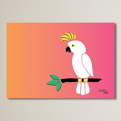 Cockatoo on Sunset Graphic Art