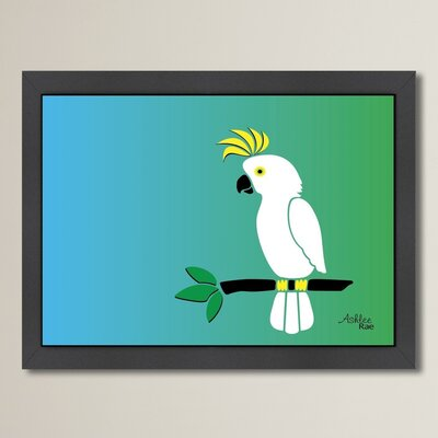 Cabrini Cockatoo Framed Graphic Art