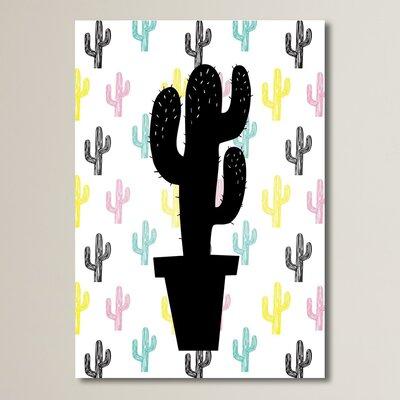 Cabrini Cactus on Cactus Graphic Art