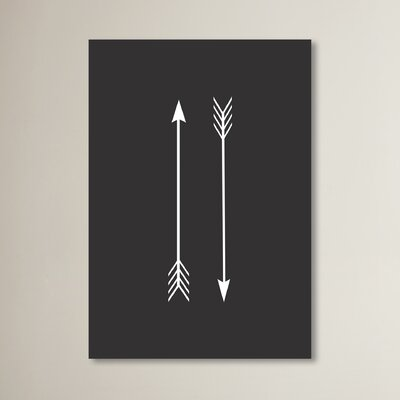 Beckett Two Arrows Graphic Art