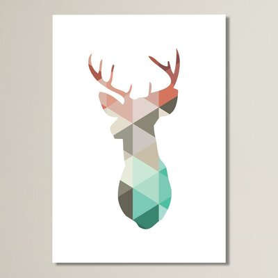 Beckett Spring Deer Graphic Art