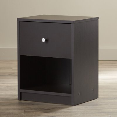 Bedford 1 Drawer Nightstand Finish: Coffee